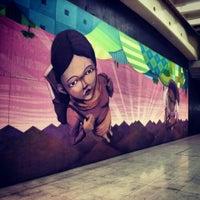Photo taken at Metro Quinta Normal by Pancho D. on 4/18/2013