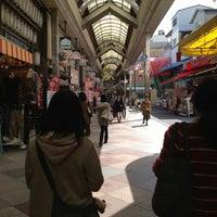 Photo taken at 新京極商店街 by Tomoki N. on 3/19/2013