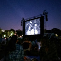 Photo taken at Screen on the Green by Netisha C. on 8/5/2014
