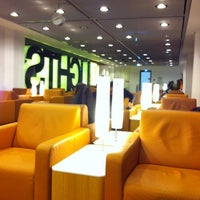 Photo taken at Lufthansa Senator Lounge B by Steve on 12/18/2012