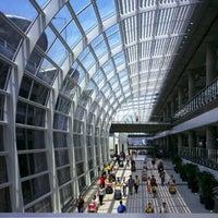 Photo taken at Hong Kong International Airport (HKG) by Gunta R. on 10/31/2013