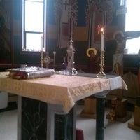 Photo taken at St Johns Greek Orthodox Church by Demetrios K. on 9/1/2013