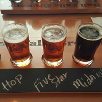 Photo taken at Bull Falls Brewery by Mariel C. on 4/27/2015