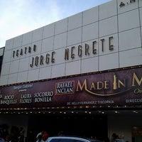 Foto tomada en Teatro Jorge Negrete por Gee B. el 9/30/2013