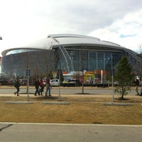 Photo taken at AT&T Stadium by Brian A. on 1/4/2013