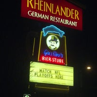Photo taken at Rheinlander German Restaurant by Jeff M. on 1/5/2013