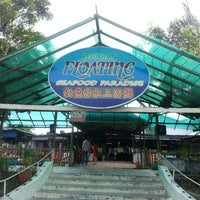 Photo taken at Floating Seafood Paradise by jasmine l. on 6/2/2013