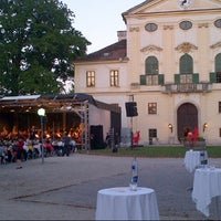 Photo taken at Schloss Kirchstetten by Eva D. on 7/27/2013