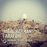 Photo taken at Arafah Mountain by Darto K. on 6/4/2013