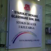Photo taken at Menang Glassware by kai h. on 8/16/2014