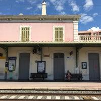 Photo taken at Gare SNCF de Nice Saint-Augustin by Joon K. on 6/6/2017