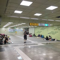 Photo taken at Olympic Park Stn. by Joon K. on 7/21/2016