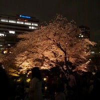 Photo taken at Mohri Garden by Miho M. on 3/23/2013