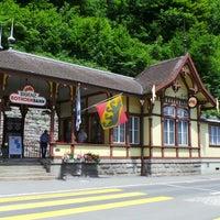 Photo taken at Brienz–Rothorn Bahn by Steve T. on 6/14/2013