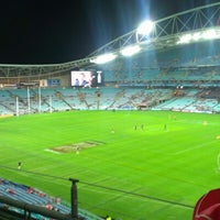 Photo taken at ANZ Stadium by Christopher H. on 6/30/2012