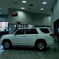 Photo taken at San Marcos Toyota by Maria E. on 12/23/2011