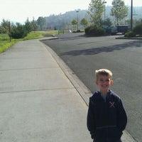 Photo taken at Rainier City Park by Zachary T. on 10/29/2011