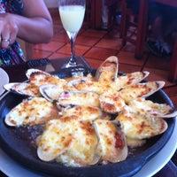 Photo taken at El Ancla Restaurant by Rodrigo C. on 1/28/2012