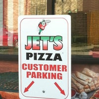 Photo taken at JET'S PIZZA by Michelle H. on 5/29/2012
