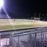 Photo taken at Nation Ford High School Stadium by James B. on 3/1/2012