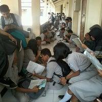 Photo taken at SMK Negeri 2 Surakarta by Aji K. on 11/27/2013