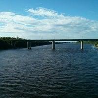 Photo taken at Пешеходный мост by Vasily L. on 6/28/2014
