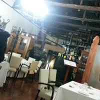 Photo taken at El Bodegon Restaurante - Mesón by David C. on 12/7/2013
