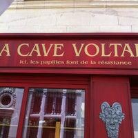 Photo taken at La Cave Voltaire by Château D. on 6/1/2013