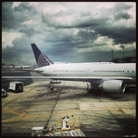 Photo taken at Newark Liberty International Airport (EWR) by Hayo T. on 5/23/2013