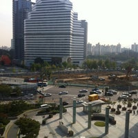 Photo taken at I'Park Mall by Jeff Y. on 10/13/2012