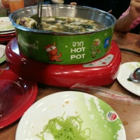 Photo taken at Hot Pot Inter Buffet by τїρ ♥. on 4/21/2016
