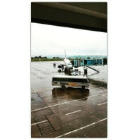 Photo taken at Mangalore International Airport by Jeethan D. on 7/10/2015