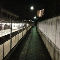 Photo taken at Kami-Nakazato Station by Munetoshi T. on 1/5/2013