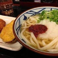 Photo taken at Marugame Seimen by Kamida M. on 7/31/2013