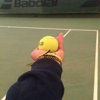 Photo taken at Performans Tenis Akademisi Cemile Sultan Korusu by Serkan H. on 10/29/2016