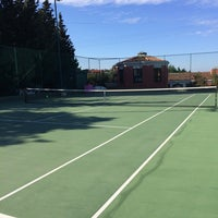 Photo taken at Performans Tenis Akademisi Cemile Sultan Korusu by Serkan H. on 4/30/2016