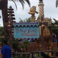 Photo taken at The Magic Carpets of Aladdin by @resseinthecity on 8/19/2013