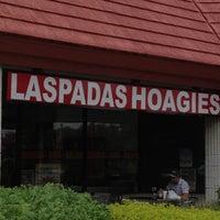 Photo taken at Laspada's Original Hoagies by @resseinthecity on 10/2/2012