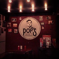 Photo taken at Pop's Burger by Ron V. on 4/8/2013