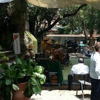 Photo taken at Cafetería Museo Dolores Olmedo by Alan A. on 8/24/2014