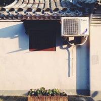 Photo taken at Qianmen Hostel by Eric Z. on 9/8/2013