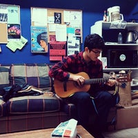 Photo taken at Internationalist Books and Community Center by Morgan S. on 12/4/2013