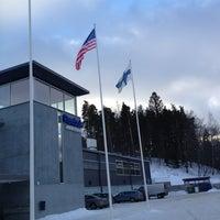 Photo taken at Leppävaaran jäähalli - Warrior Areena by Abde H. on 1/14/2013