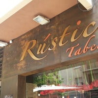 Photo taken at Restaurante Rústico by Isidro T. on 6/9/2013