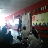 Photo taken at Meng's Martial Arts of Richmond by Justin O. on 11/2/2013