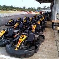 Photo taken at Sepang International Go Kart Track by Ruddy Henry S. on 1/15/2013