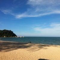 Photo taken at Pantai Teluk Cempedak (Beach) by Mohd A. on 9/2/2013