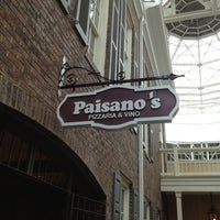 Photo taken at Paisano's Pizzaria & Vino by Cynthia ❤ S. on 10/12/2012