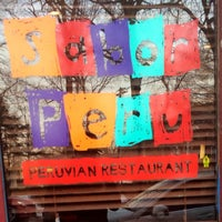Photo taken at Sabor Peru Restaurant by Michael J. P. on 2/1/2014
