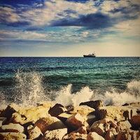 Photo taken at Limassol Old Port by Nick V. on 12/29/2012